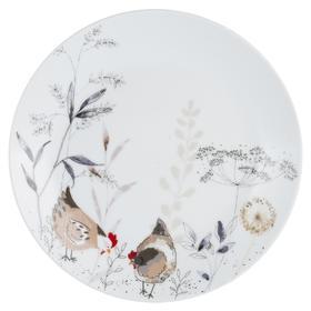 Тарелка Country Hens 20.5 см