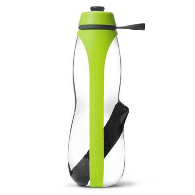 Бутылка для воды с фильтром, 700 мл, зеленый - Фото 1