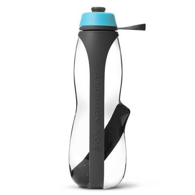 Бутылка для воды с фильтром, 700 мл, серо-голубой - Фото 1