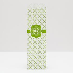 Пакет бумажный фасовочный 'Вилка/Ложка', V-образное дно, 7 х 26 см Ош