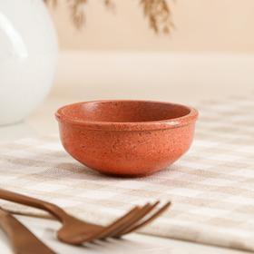"""Пиала для чайной церемонии """"Гранит"""", оранжевая, 70мл"""