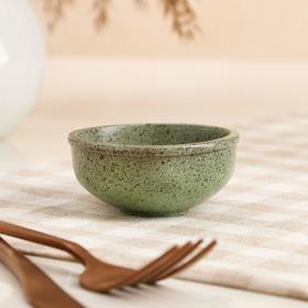 """Пиала для чайной церемонии """"Гранит"""", светло-зелёная, 70мл"""
