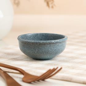 """Пиала для чайной церемонии """"Гранит"""", синяя, 70мл"""