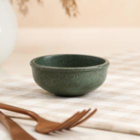 """Пиала для чайной церемонии """"Гранит"""", зелёная, 70мл"""