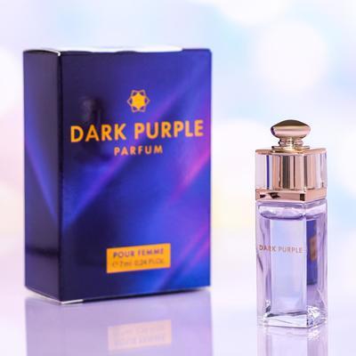 Духи-мини женские Dark Purple Parfum, 7 мл - Фото 1