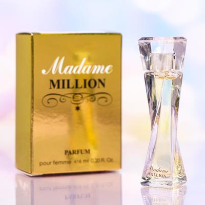 Духи-мини женские Madame Million, 6 мл - Фото 1