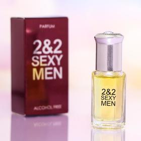 Духи-ролл мужские 2&2 Sexy Men, 6 мл