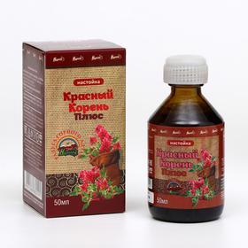 Настойка «Красный корень плюс», при заболеваниях мочеполовой системы, 50 мл