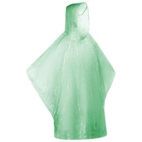 Дождевик зелёный в пластиковом футляре с карабином, d-6,4 см Ош