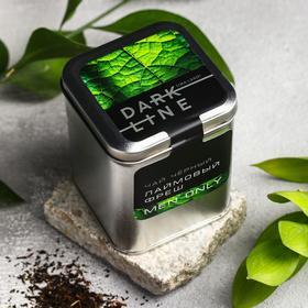 Чай чёрный DARK LINE, вкус: лаймовый фреш, 50 г.