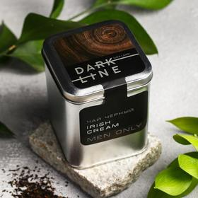 Чай чёрный DARK LINE: вкус irish cream, 50 г.