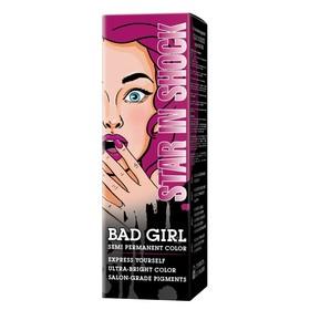 Краска для волос Bad Girl Star In Shock, фуксия, 150 мл