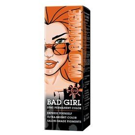 Краска для волос Bad Girl Mad Orange, неоновый оранжевый, 150 мл