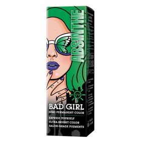 Краска для волос Bad Girl Absinthe, неоновый зелёный, 150 мл
