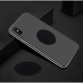 Пластина для магнитных держателей, диаметр 4 см, самоклеящаяся, черная Ош