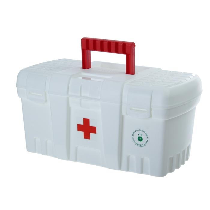 Аптечка «Скорая помощь», большая, цвет белый