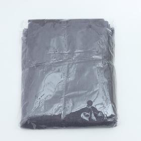 Сетка антимоскитная на окна, 150×130 см, крепление на липучку, цвет серый Ош