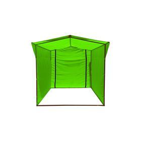 Торгово-выставочная палатка ТВП-2,0х2,0 м, цвет зелёный Ош