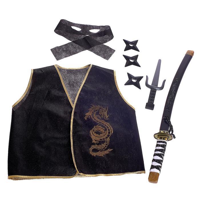 Набор ниндзя Золотой воин