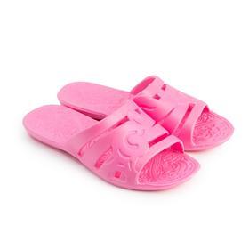 Сланцы женские, цвет розовый, размер 38-39 Ош