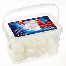 Экологичные таблетки для ПММ Techpoint, бесфосфатные, неполная загрузка, 60 шт.