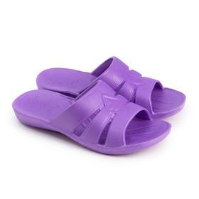 Сланцы женские, цвет фиолетовый, размер 40-41 Ош