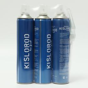 Комплект кислородный баллончик K12L - 2 шт. + кислородный баллончик с маской K12L-M - 1 шт. Ош
