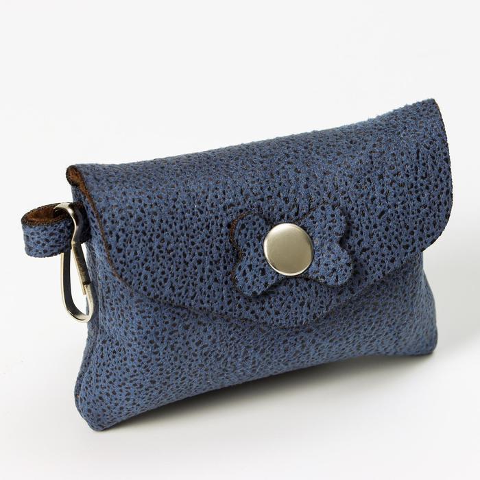 """Набор для уборки за собаками """"Пижон"""" сумка+пакеты 24х40 см, 20 шт, синий/фиолетовый"""