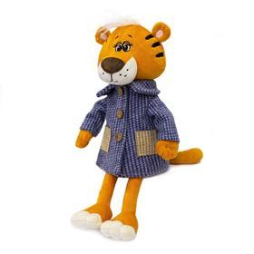 Мягкая игрушка «Тигр Томас в пальто», 25 см