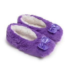 Тапочки женские, цвет фиолетовый, размер 36