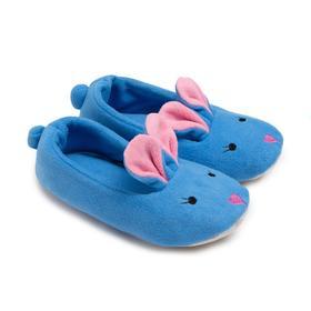 Тапочки женские, цвет голубой, размер 36