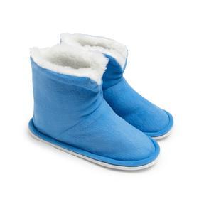 Тапочки женские, цвет голубой, размер 35