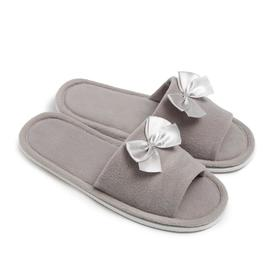 Тапочки женские, цвет серый, размер 35