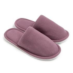 Тапочки женские, цвет пудра, размер 35