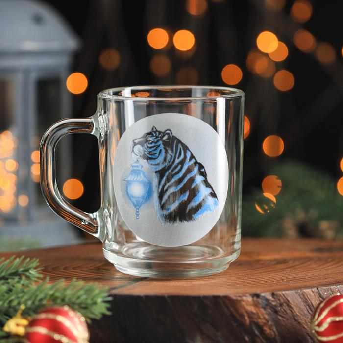 Кружка Доляна Тигр. Свет, 200 мл
