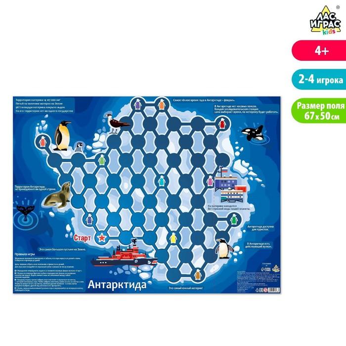 Игровое поле Весёлая география, Континент Антарктида