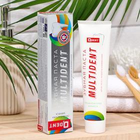 Зубная паста Qdent Multident, в футляре, 124 г
