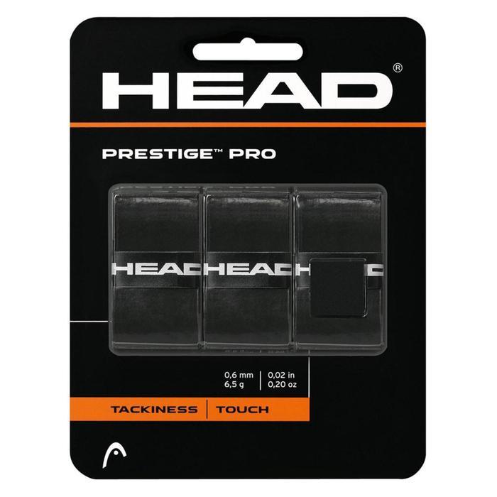 Овергрипы Prestige Pro, цвет чёрный