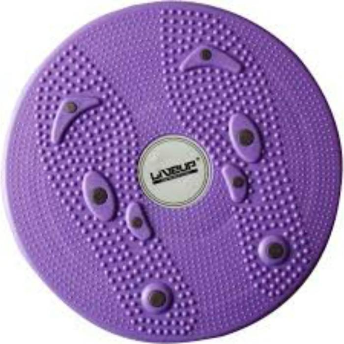 Вращающийся диск, цвет фиолетовый
