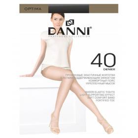 Колготки женские Danni Optima 40 ден цвет чёрный, размер 2