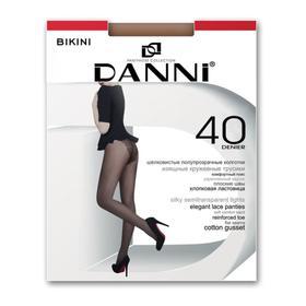 Колготки женские Danni Bikini 40 ден цвет телесный, размер 2