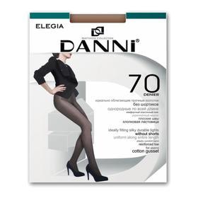 Колготки женские Danni Elegia 70 ден цвет загар, размер 2