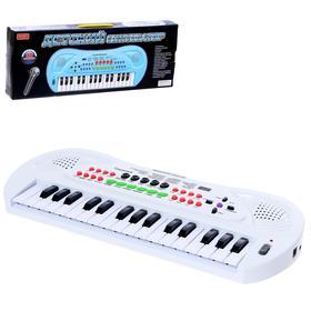 Синтезатор «Маэстро», 32 клавиши, с микрофоном и блоком питания