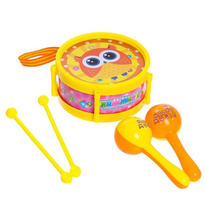 Набор музыкальных инструментов Мелодия, 5 предметов