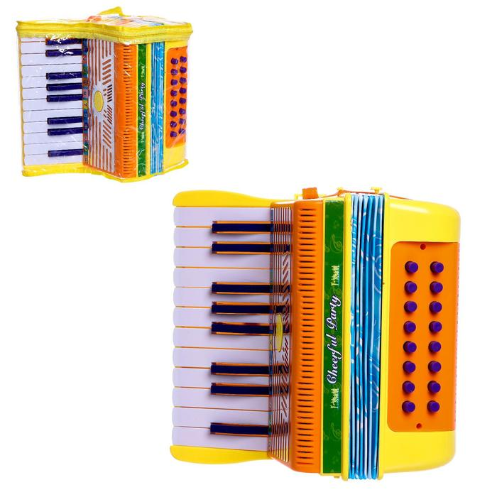 Игрушка музыкальная Аккордеон, цвета МИКС