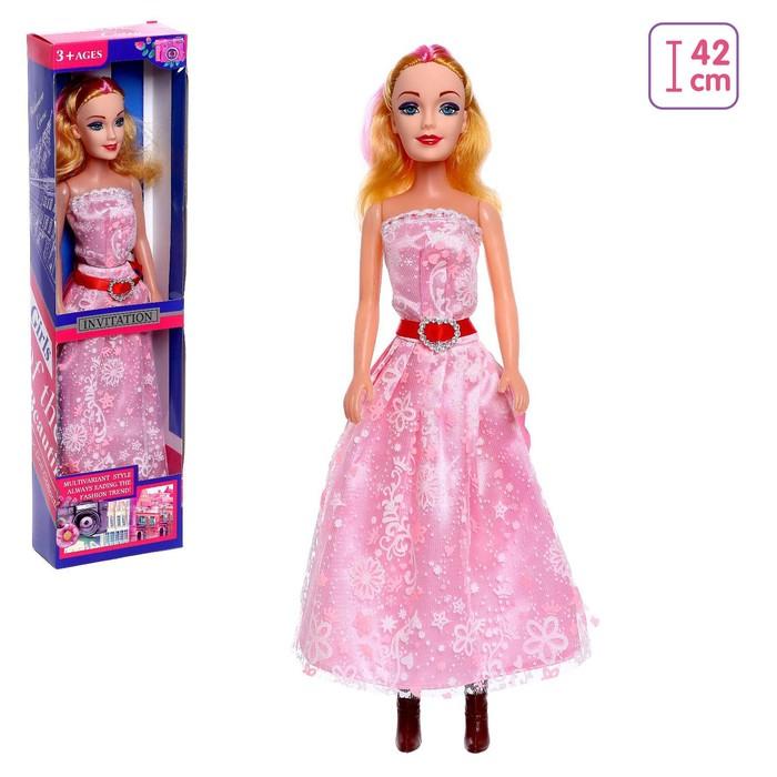 Кукла Оля в платье МИКС