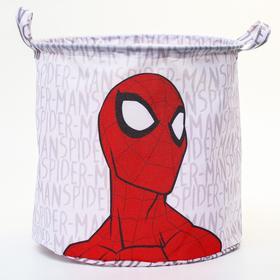 """Корзина для игрушек""""Spider-man"""" Человек-паук , 33*33*31 см"""
