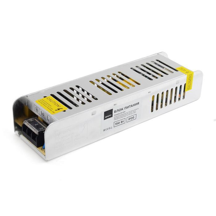 Блок питания Apeyron electrics 24В, 150Вт, импульсный, IP20, 170-264В, 6.3А, 213x60x40 мм