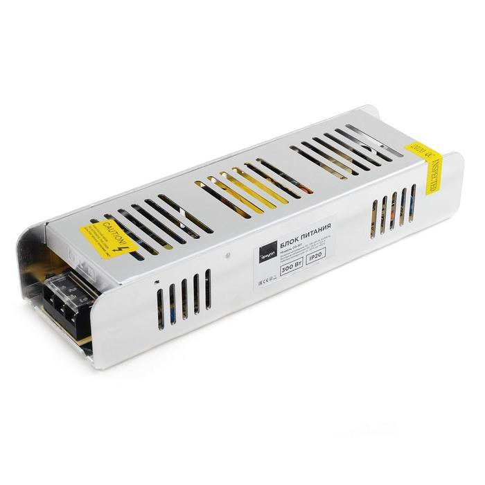 Блок питания Apeyron electrics 24В, 300Вт, импульсный, IP20, 170-264В, 12.5А, 223x69x40 мм
