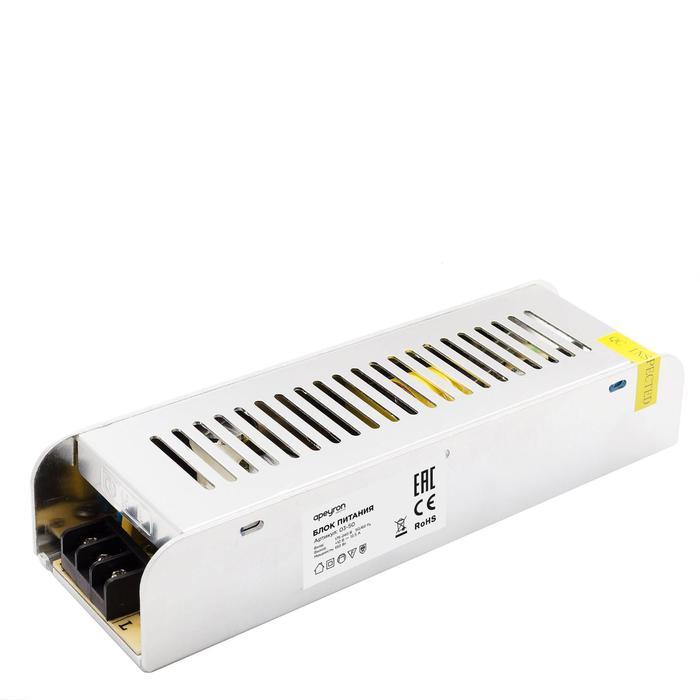 Блок питания Apeyron electrics 12В, 150Вт, IP20, 12.5А, 200x59x39 мм